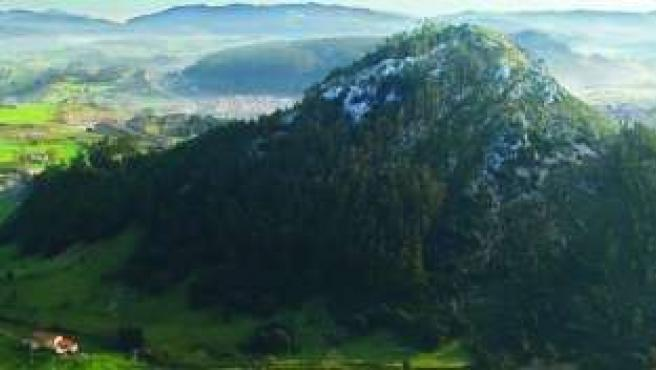 Pico Castillo, en Medio Cudeyo
