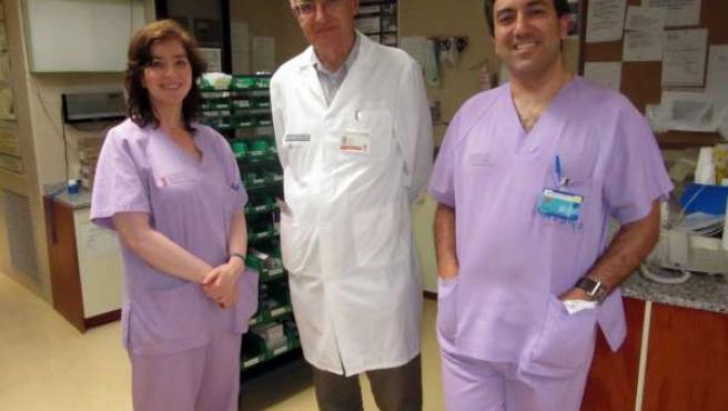 Equipo de investigadores del Hospital de Elche