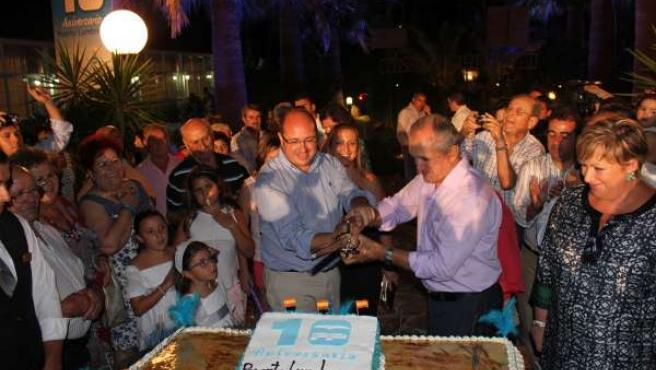 El PP celebra sus diez años de gobierno en el municipio de Puerto Lumbreras