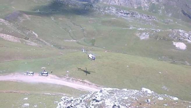 Búsqueda del montañero inglés desaparecido en Picos de Europa
