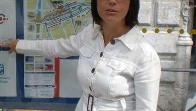 La portavoz del PSOE en el Ayuntamiento de Málaga, María Gámez