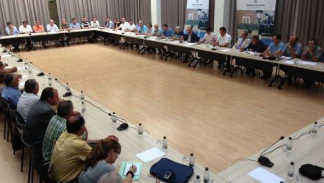 Diputación de Lleida aborda el uso de yoduro de plata contra el pedrisco