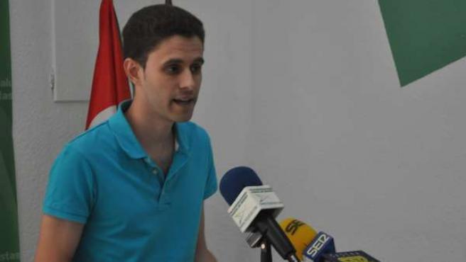 Secretario nacional de JJAA, David J Gómez