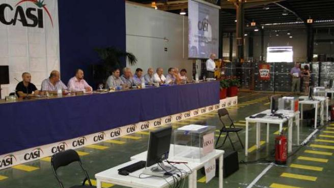 Asamblea de socios de CASI