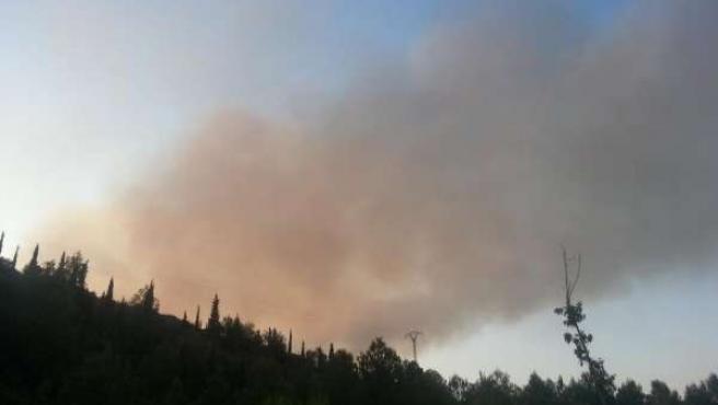 Incendio en Benaguassil