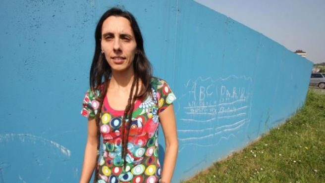 Silvia García, la afectada por el Servicio de Salud del Principado.