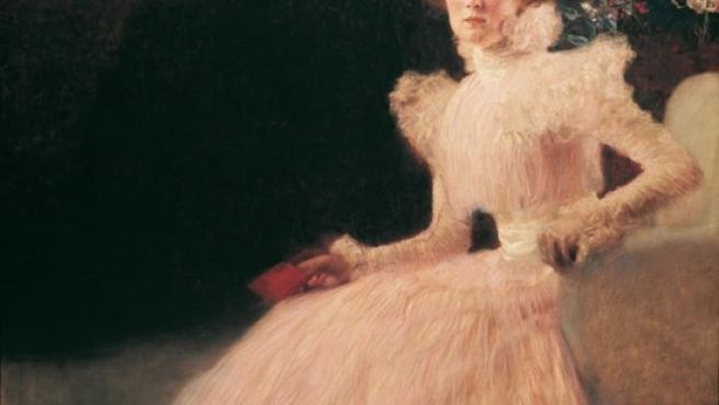 'Sonja Knips', retrato realizado por Gustav Klimt en torno al año 1898