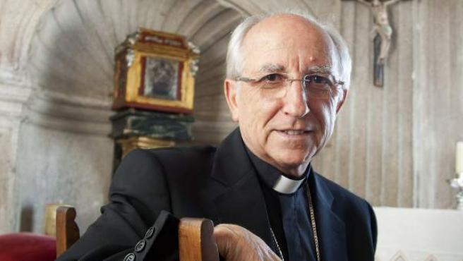 El presidente de la Comisión Episcopal de Patrimonio Cultural de la Conferencia Episcopal Española (CEE), Jesús García Burillo.