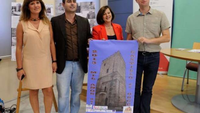 Firma de un convenio entre la Junta y el Orce sobre el Milenio de Granada