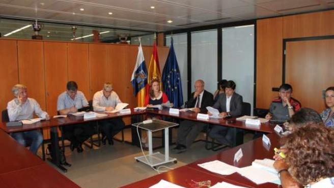 Reunión de la comisión de seguridad