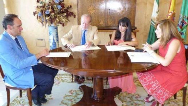 Diputación firma un acuerdo con el TAS para ayudar a personas dicapacitadas
