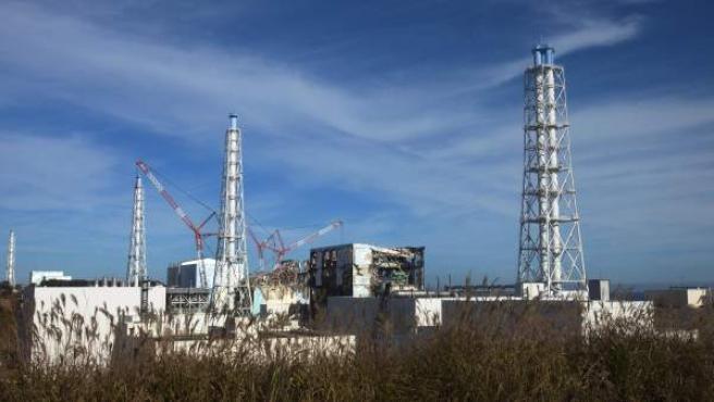 Vista general de la central nuclear de Fukushima Dai-Ichi, en el noreste de Japón.
