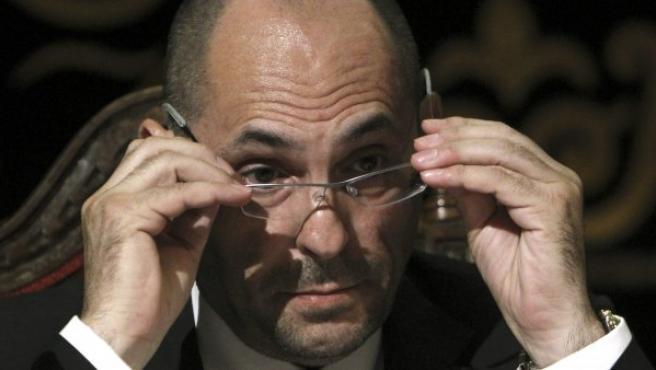 El juez Elpidio José Silva, que ordenó el ingreso en prisión incondicional del expresidente de Caja Madrid Miguel Blesa.