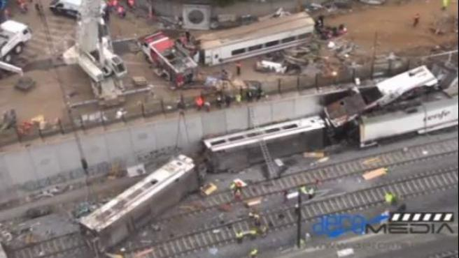 Accidente de tren de Santiago de Compostela.