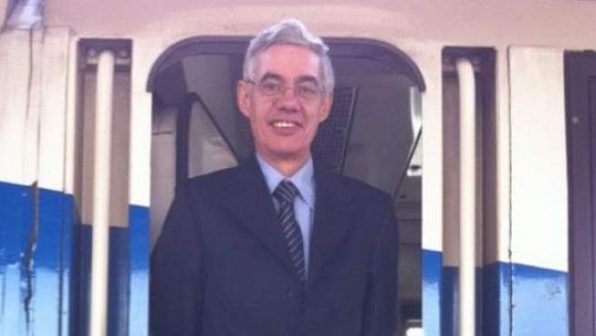 El maquinista del tren descarrilado en Santiago de Compostela, Francisco José Garzón del Amo, en una foto de su perfil abierto de Facebook.
