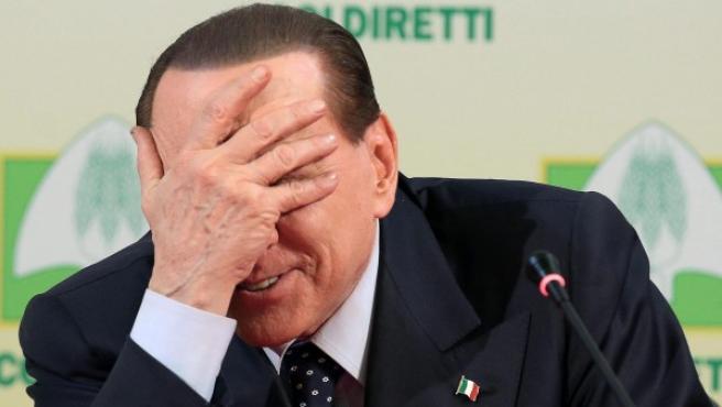 Fotografía de archivo del exprimer ministro italiano Silvio Berlusconi.