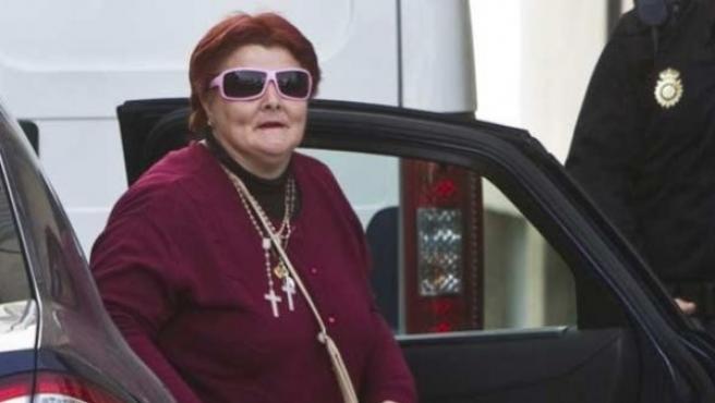 Isabel García, la mujer del asesino de Mari Luz, Santiago del Valle, en una foto de archivo.