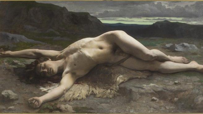 'Abel' (1874-1875), pintura de Bellanger incluida en la muestra