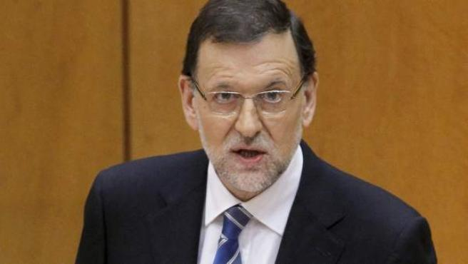 El presidente del Gobierno comparece ante el pleno del Congreso para dar explicaciones sobre el 'caso Bárcenas'.