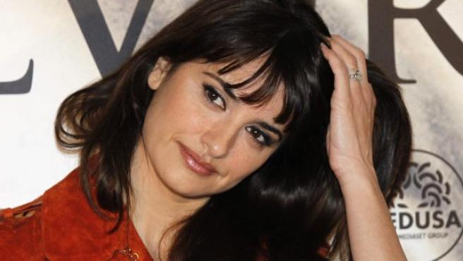 La actriz más internacional del cine español, Penélope Cruz.