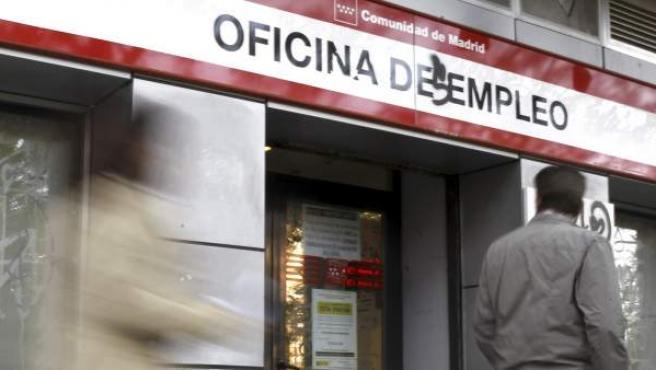 Una oficina del paro en la comunidad de Madrid.