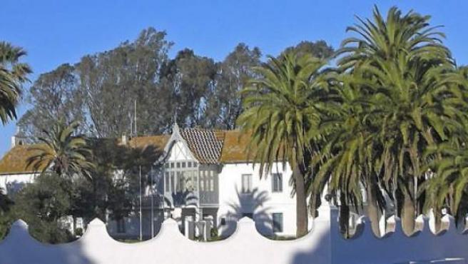 Fotografía de archivo del Palacio de las Marismillas en Doñana.