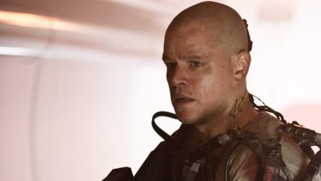Matt Damon y Jodie Foster encabezan el reparto de Elysium, ambientada en el año 2159, en una estación espacial donde un grupo de privilegiados viven ajenos a la situación de supervivencia que se vive en la Tierra.