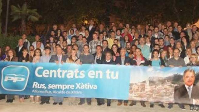 Fotografía del Partido Popular de Xàtiva (Valencia).