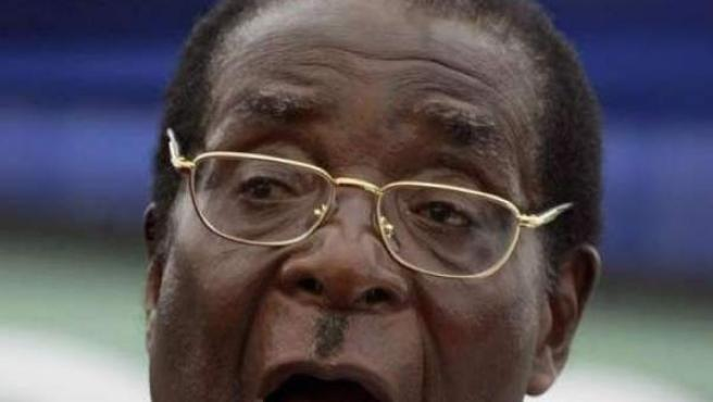 Robert Mugabe, presidente de Zimbabue.