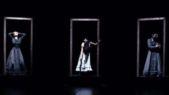 Bailarinas de la compañía Antonio Gades.