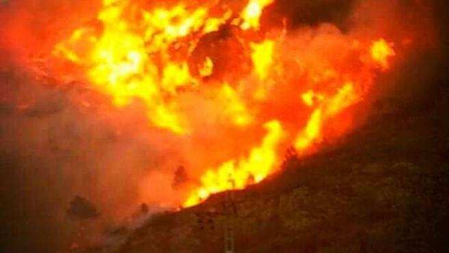 Imagen de archivo de un incendio en al Comunitat