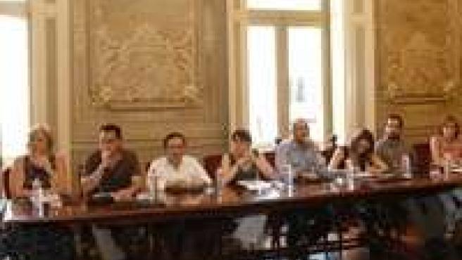 Grupo municipal socialista en el Ayuntamiento de Torrelavega