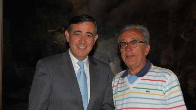 Encuentro entre la Diputación de Soria y el Centro Soriano de Buenos Aires