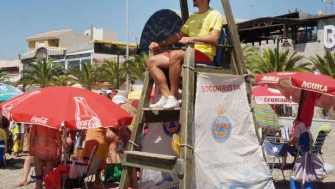 Operativo de vigilancia en playas