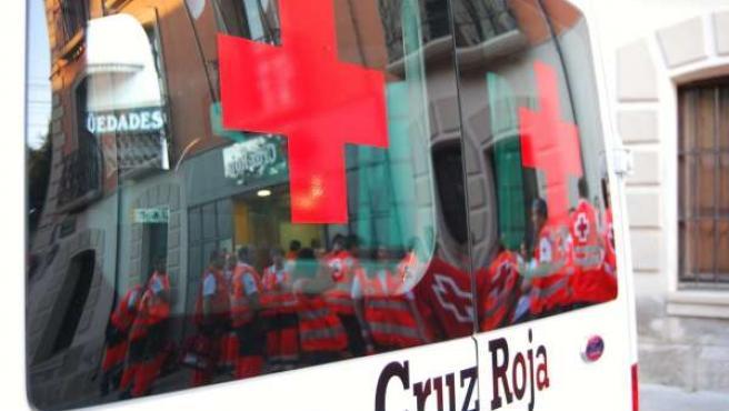 Ambulancia de Cruz Roja Navarra