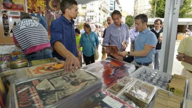 ÞInauguración de la Feria del Libro Viejo en Santander