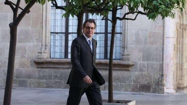 El presidente de la Generalitat Artur Mas