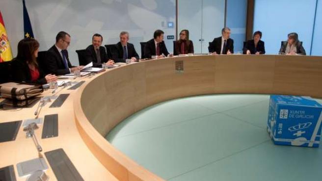 Reunión del Consello de la Xunta del 7 de marzo