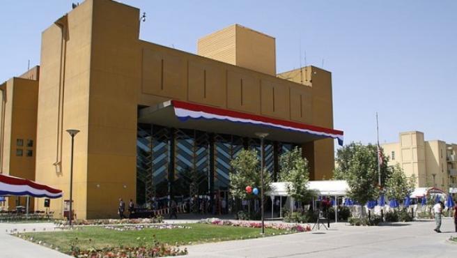 La embajada de Estados Unidos en Kabul, en una imagen de 2010.
