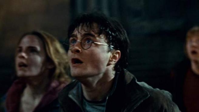 Daniel Radcliffe, Emma Watson y Rpert Grint en 'Harry Potter y las reliquias de la muerte: Parte 2'.