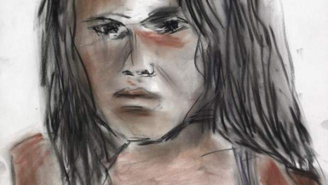 Uno de los dibujos de Dylan que se mostrarán en Londres