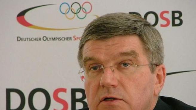 Thomas Bach, candidato a presidir el Comité Olímpico Internacional (COI).