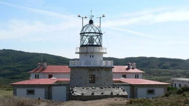 El faro situado en Estaca de Bares.