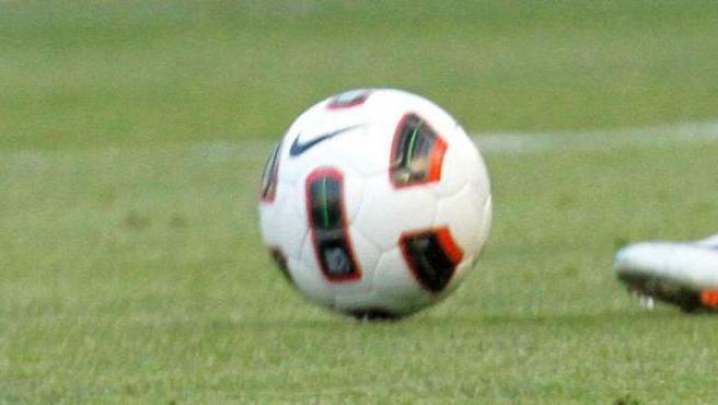 Imagen de un balón de fútbol.