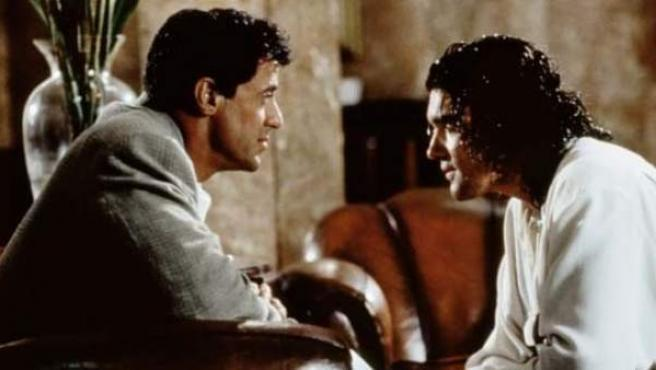 Silvester Stallone y Antonio Banderas en 'Asesinos' (1995).
