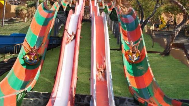 El nuevo tobogán 'Speed Boat'