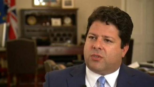 El primer ministro de Gibraltar, Fabian Picardo.