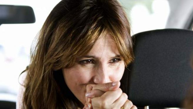 Goya Toledo en la grabación de su nueva película, 'Marsella'.