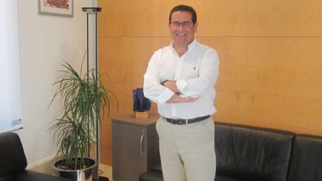 Jorge Bellver en su despacho