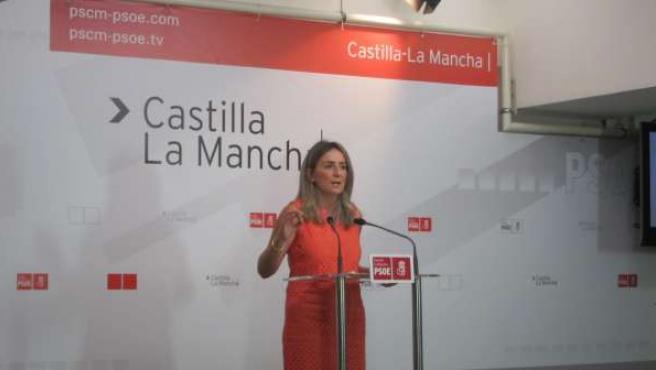 Milagros Tolón, portavoz PSOE regional